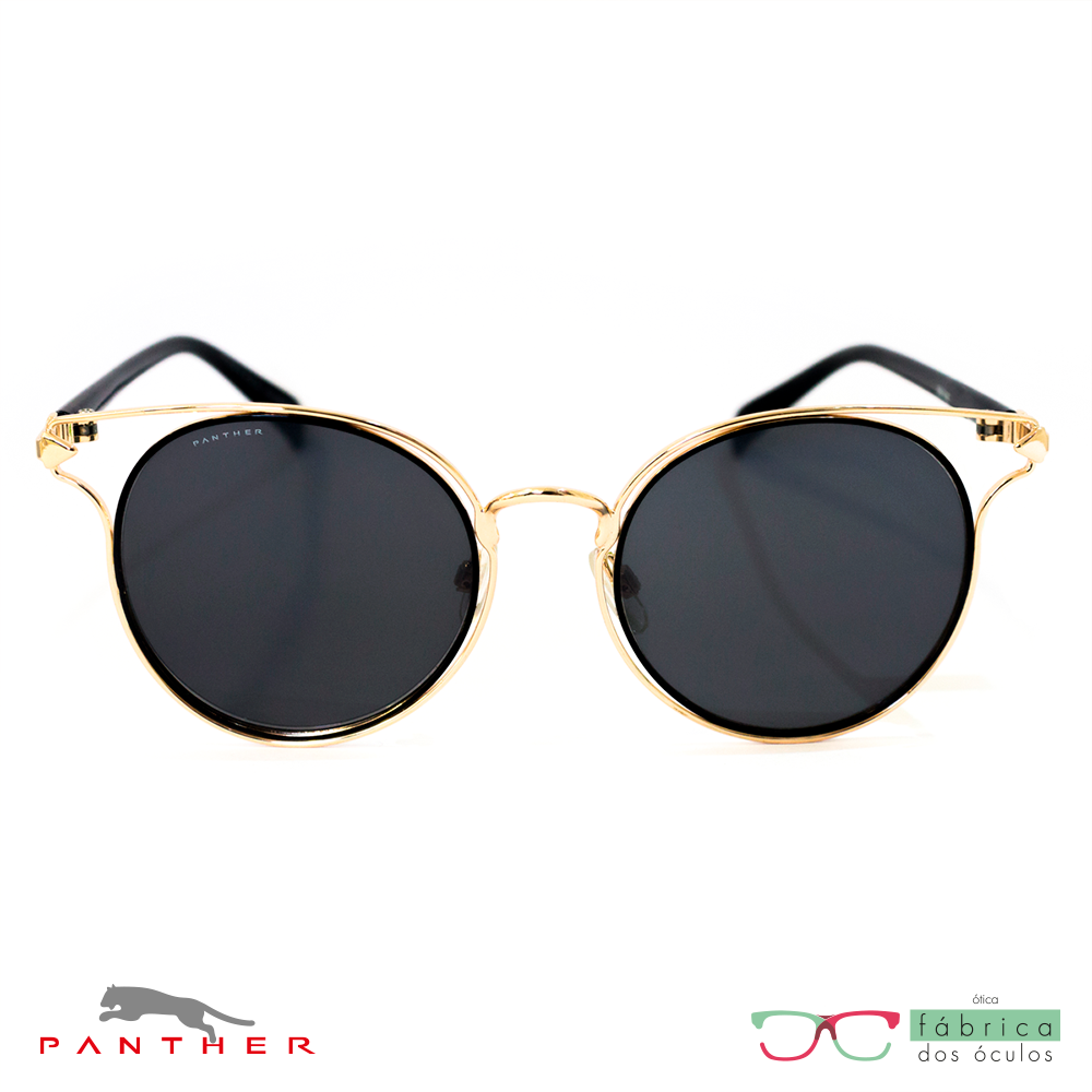 Óculos De Sol Feminino Panther (B88 340) - Fábrica dos Óculos fa0139ff71