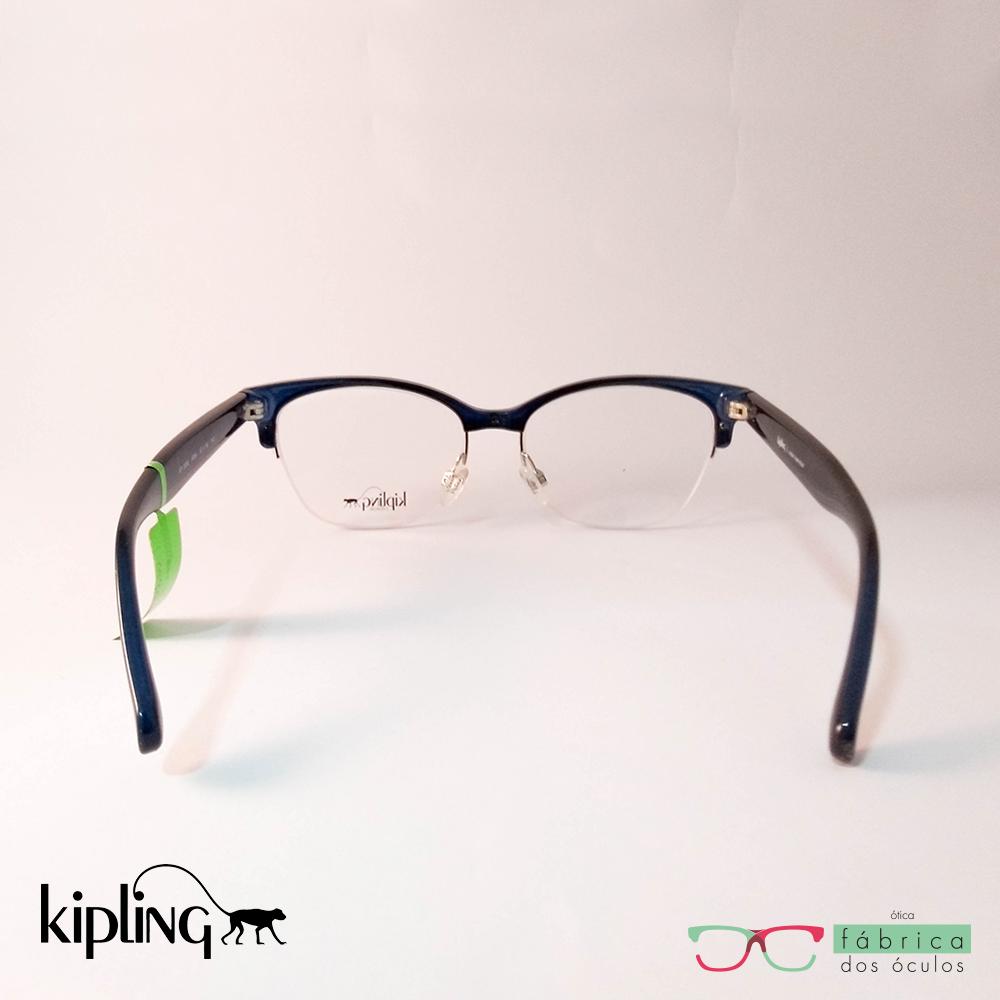 616efa366 Armação Kipling Azul (KP 3098 F094) - Fábrica dos Óculos